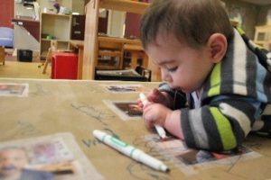 """I Want a Marker!"" An Exploration of Writing Materials with Infants and Toddlers"